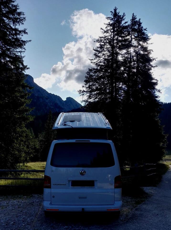 pannello solare VW california T5 1